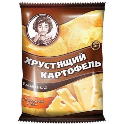 Чипсы Хрустящий картофель Сыр