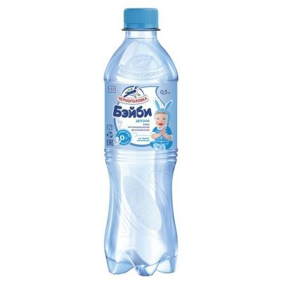 Вода питьевая для детского питания 'Черноголовка' ПЭТ