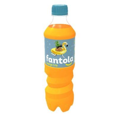 Напиток безалкогольный сильногазированный 'Fantola Mango Trio' (Фантола Манго Трио) ПЭТ