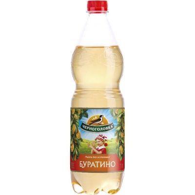 Напиток безалкогольный сильногазированный Черноголовка 'Лимонад Буратино'