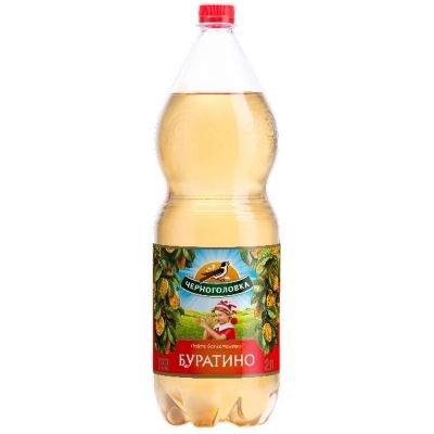 Напиток безалкогольный сильногазированный Черноголовка 'Лимонад Буратино'ПЭТ