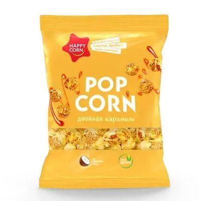 Воздушная кукуруза 'Happy Corn' двойная карамель