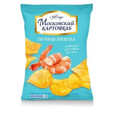 Чипсы Московский картофель Тигровая креветка