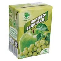 Нектар Плодовое яблоко-виноград