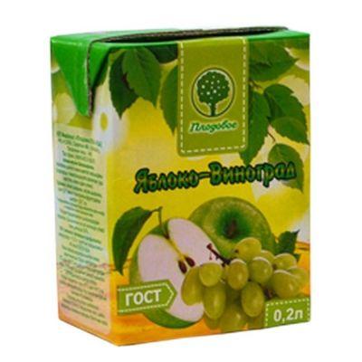Сок Плодовое Яблочно-виноградный