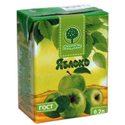 Сок Плодовое Яблочный