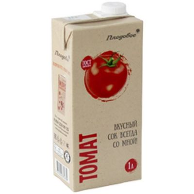 Сок Плодовое Премиум томатный Тетра Пак