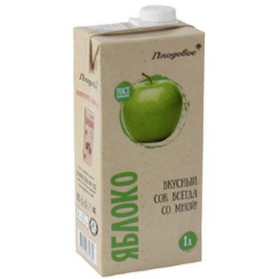 Сок Плодовое Премиум яблочный Тетра Пак
