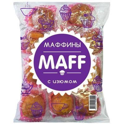 Кексы Русскарт Маффины с изюмом
