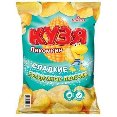 Снеки кукурузные 'Кузя Лакомкин'