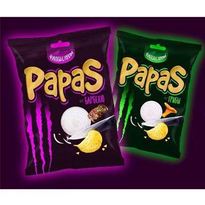 Чипсы картофельные 'Papas' со вкусом барбекю