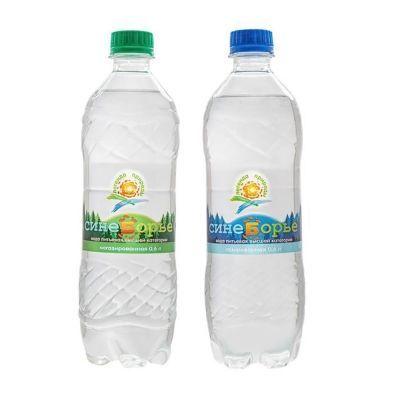 Вода Синеборье газированная