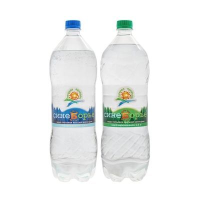 Вода Синеборье негазированная