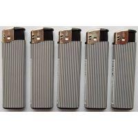 Зажигалки Make Fire MF-55 полоса серебро