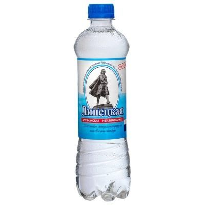 Вода минеральная 'Липецкая классическая' негазированная ПЭТ