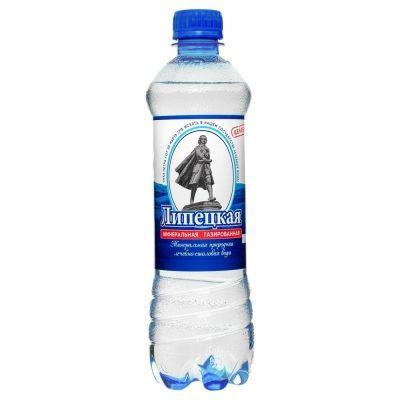 Вода минеральная 'Липецкая' газированная ПЭТ