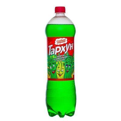 Напиток Сладкая страна 'Вкус тархун' газированный ПЭТ