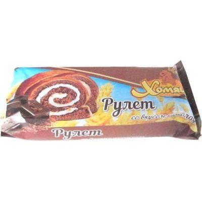 Рулет 'Хомяша' со вкусом шоколада