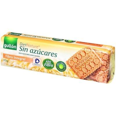 Печенье Гуллоне Fibra (Фибра) без сахара