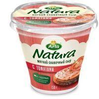 Сыр Арла Натура мягкий cливочный 55% с томатами пл/ст