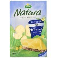 Сыр Арла Натура Тильзитер 45% нарезка
