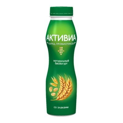 Биойогурт питьевой Активиа Злаки 2,2% ПэтБут