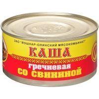 Консервы Йошкар-Ола Каша гречневая со свининой №8
