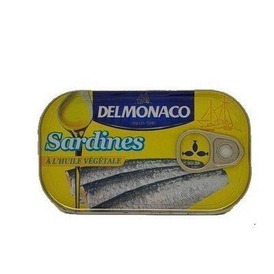 Сардины Delmonaco в растительном масле