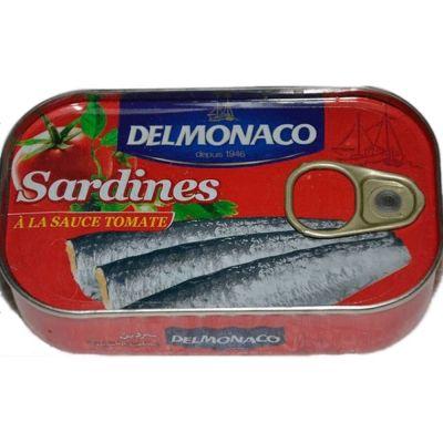 Сардины Delmonaco в томатном соусе