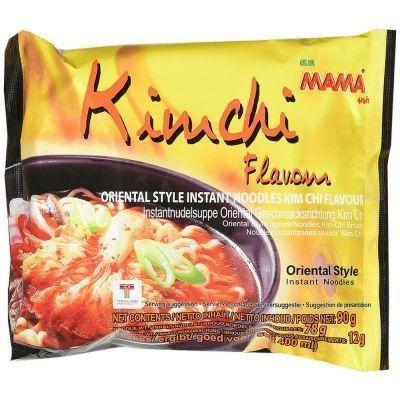Лапша быстрого приготовления МАМА со вкусом Ким Чи брикет