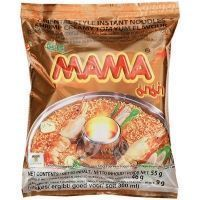 Лапша быстрого приготовления МАМА со вкусом Кремовый Том Ям брикет