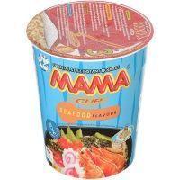 Лапша быстрого приготовления МАМА со вкусом морепродуктов стакан