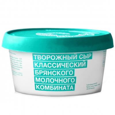 Сыр творожный Брянский МК классический 60% пл/ст