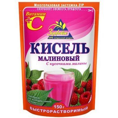 Кисель Здоровье Малиновый