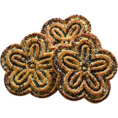 Печенье Лотос с маковой посыпкой