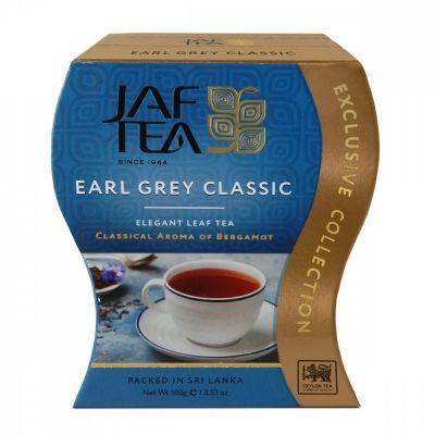 Чай Jaf Tea 'Earl Grey Classic' черный листовой с бергамотом