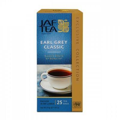 Чай Jaf Tea 'Earl Grey Classic' черный с бергамотом 25 пакетиков