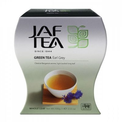 Чай Jaf Tea 'Earl Grey' зеленый с бергамотом
