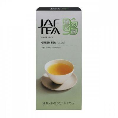 Чай Jaf Tea 'Green Natural' зеленый 25 пакетиков