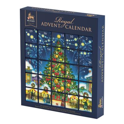 Чай Richard 'Royal Advent Calendar' ассорти 25 пирамидок