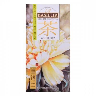 Чай Basilur 'Китайский чай - Белый чай' белый листовой