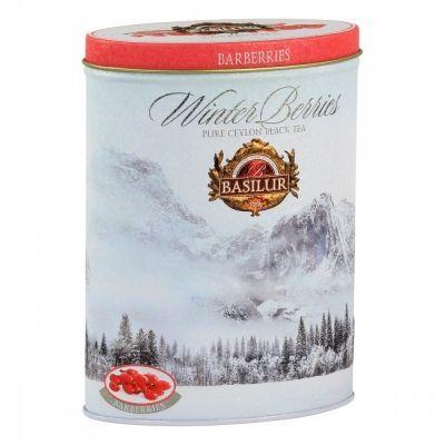 Чай Basilur 'Зимние ягоды - Барбарис' чёрный с добавками