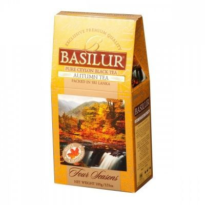Чай Basilur 'Времена года - Осенний' чёрный с добавками