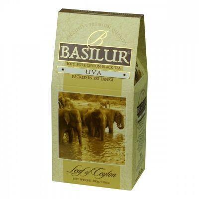 Чай Basilur 'Лист цейлона - Ува' черный листовой