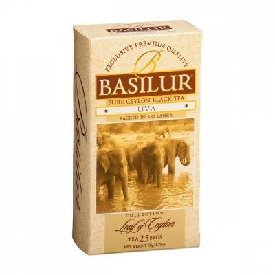 Чай Basilur 'Лист цейлона - Ува' черный 25 пакетиков