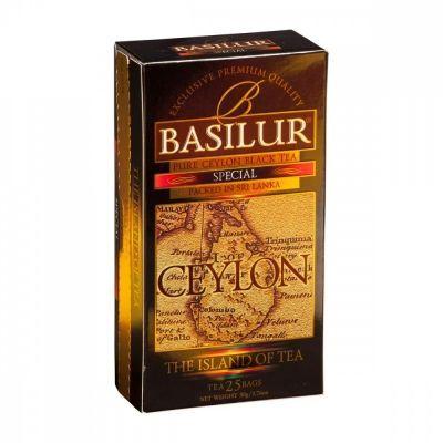 Чай Basilur 'Остров - Спешиал' черный 25 пакетиков