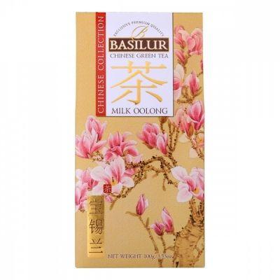 Чай Basilur 'Китайский чай - Молочный Улун' зеленый с добавками
