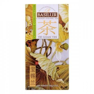 Чай Basilur 'Китайский чай - Те Гуань Инь' зеленый листовой