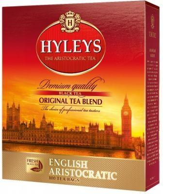 Чай Hyleys 'Английский Аристократический' черный 100 пакетиков