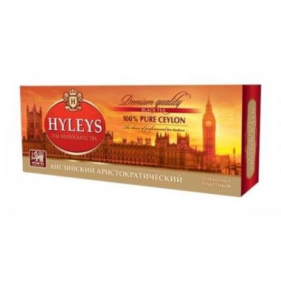 Чай Hyleys 'Английский Аристократический' черный 25 пакетиков